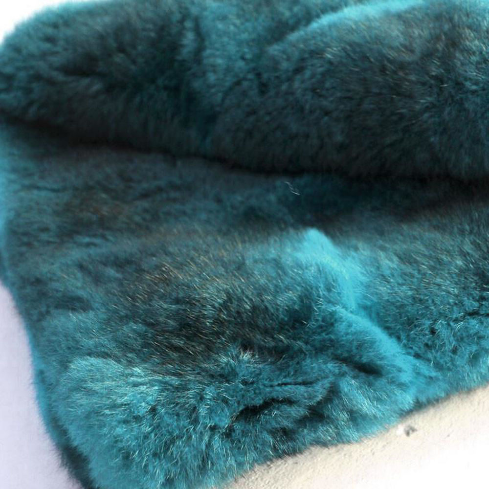 Picture of Dyed Possum Fur Throw