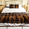 Picture of Dyed Fur Bed Runner