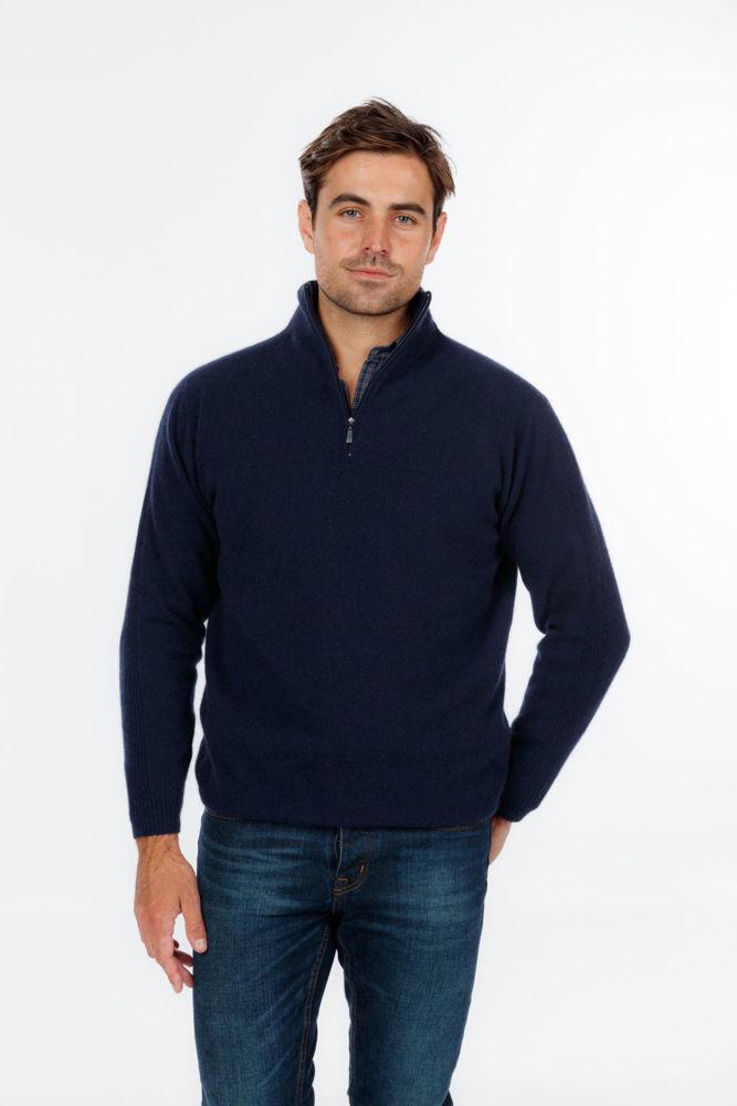 Picture of Lightweight Half Zip Sweater