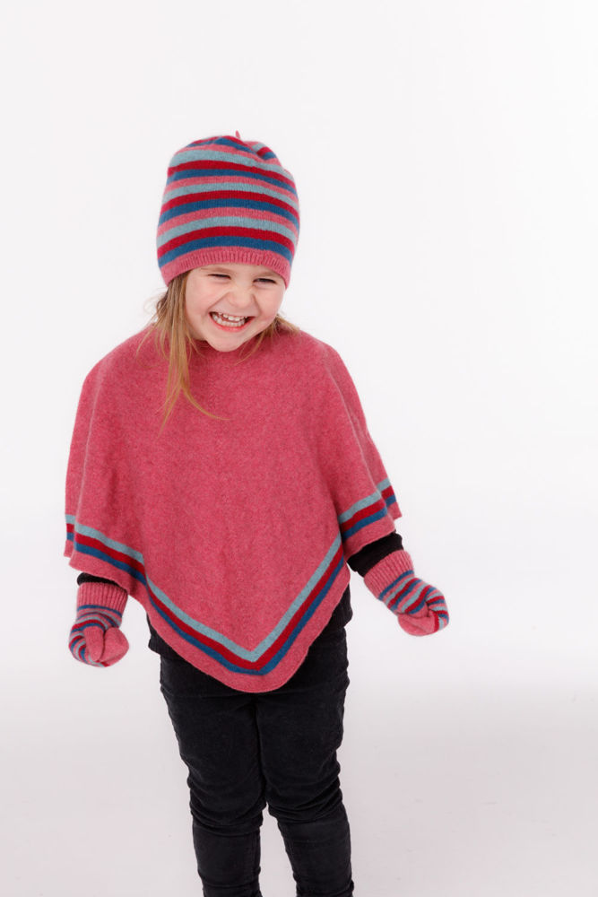 Picture of Striped Poncho