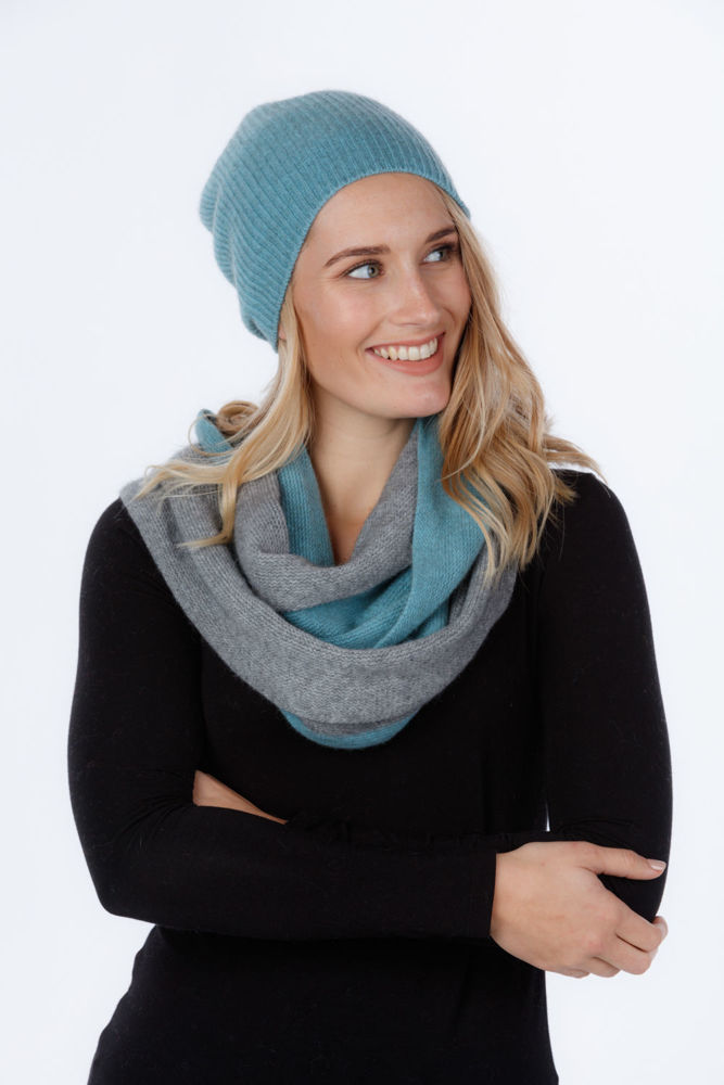 Picture of Two Tone Endless Scarf