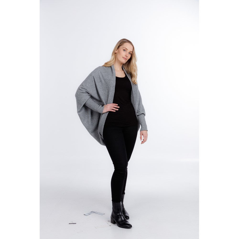 Picture of Button Neck 2 Way Shrug